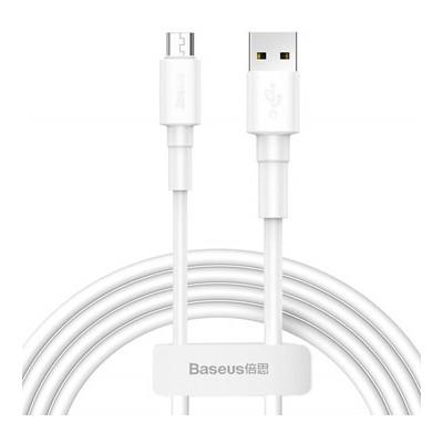 Baseus Mini kabel (micro | 1 m) beli 2,4A