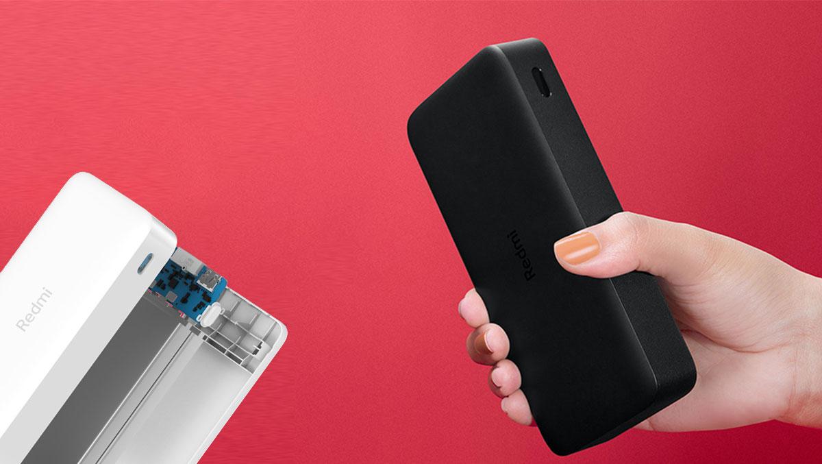 Prenosna baterija Xiaomi Redmi 20000mAh 18W  Li-Po baterijske celice