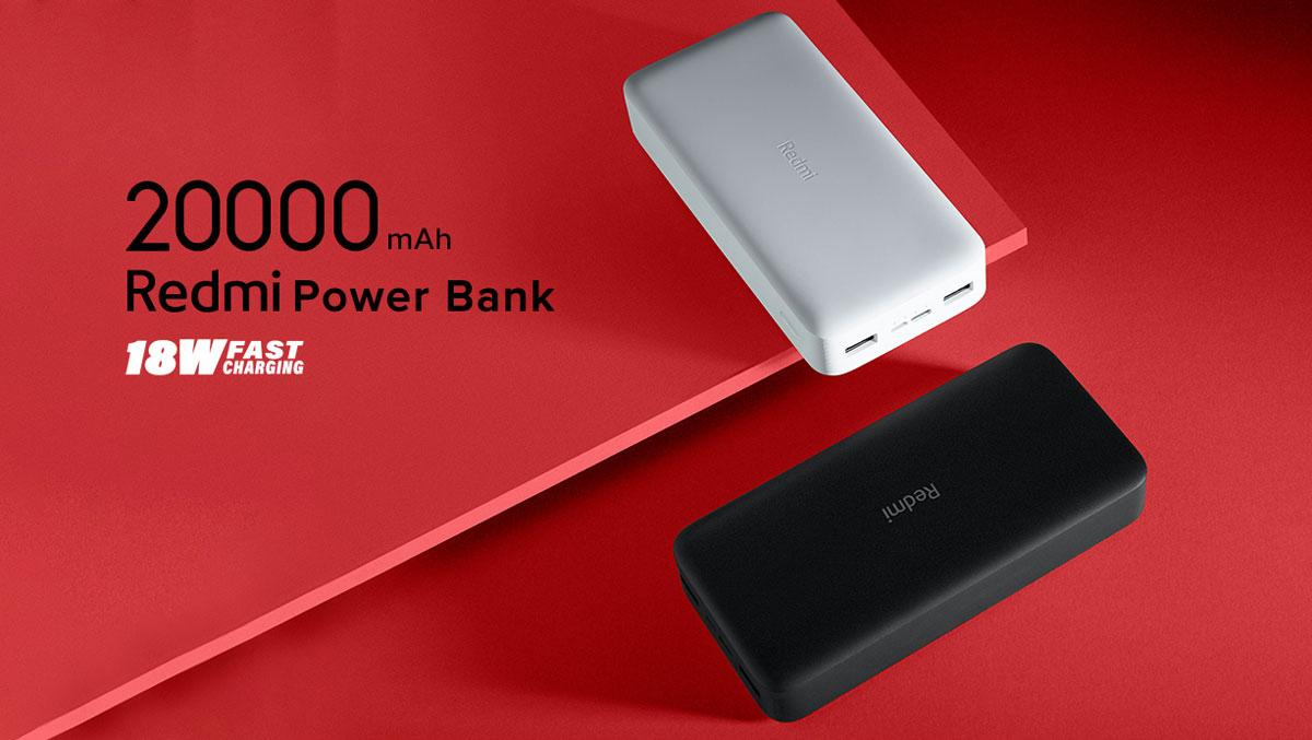 Prenosna baterija Xiaomi Redmi 20000mAh 18W