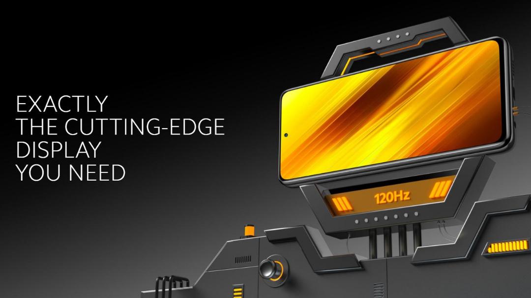Xiaomi Poco X3 6GB 128GB 120Hz osveževanje zaslona
